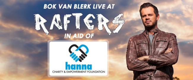 Bok Van Blerk Live in aid of Hanna Charity and Empowerment Foundation
