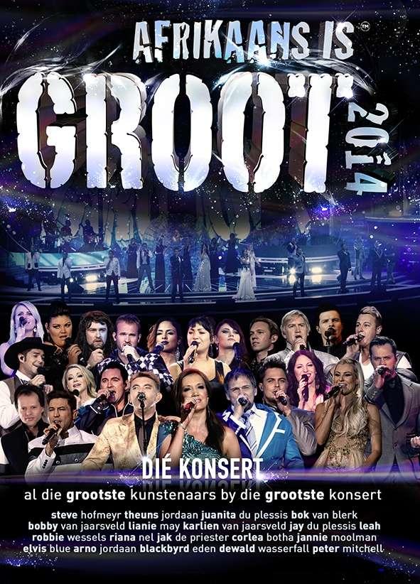 Afrikaans Is Groot 2014_DVD
